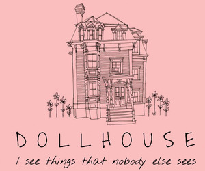 pink, dollhouse, and melanie martinez image