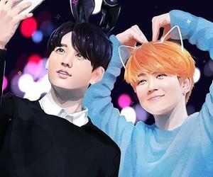 bl, yaoi, and jeon jungkook image