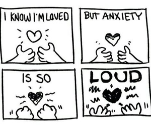 anxiety, feelings, and quotes image