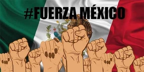 article, mexicanos, and fuertes image
