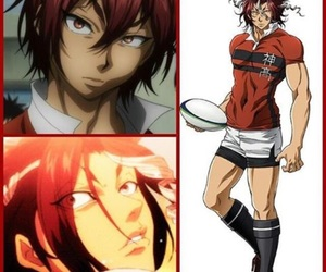 anime, rugby, and allout image