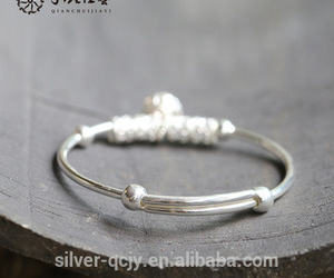 silver bracelets, sterling silver jewelry, and fine silver jewelry image