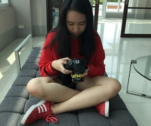 adidas, asian, and girl image