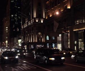 city, gossip girl, and new york image