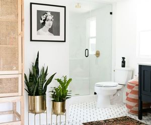 bathroom, decor, and Scandinavian image