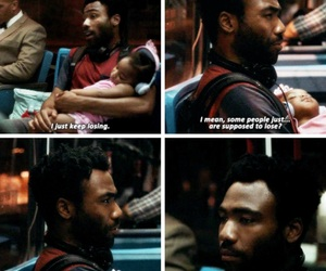 atlanta, quote, and tv show image