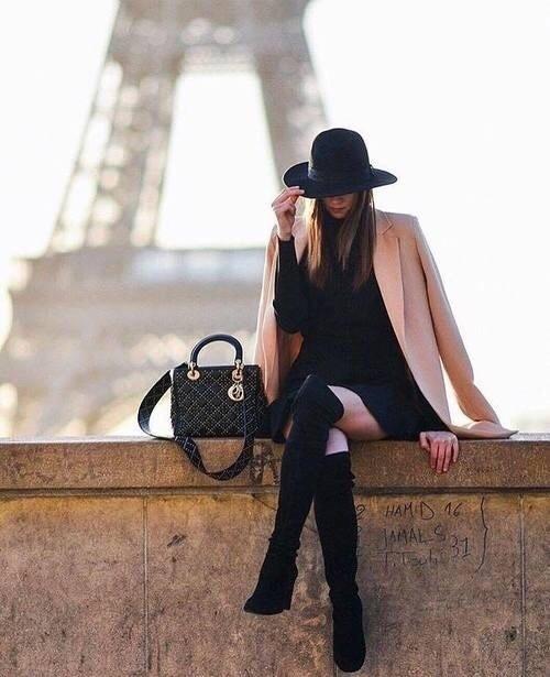 fashion, paris, and inspiration image