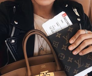 airport, fashion, and plane image