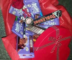 chocolates, gift, and suprise image