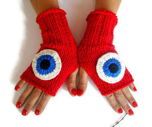 etsy, fingerless gloves, and glove image
