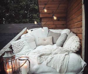 light, cozy, and home image