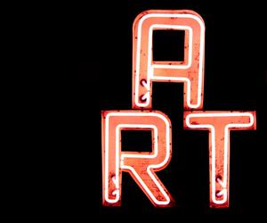 aesthetic, neon, and art image