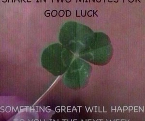 crush, luck, and good image