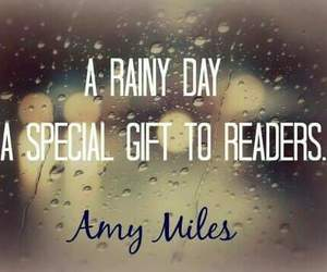 quotes, rain, and rainy day image