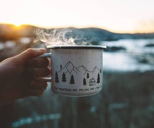 coffee, fall, and nature image