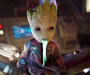 Marvel, groot, and cute image