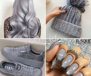 shoes, style, and hair image