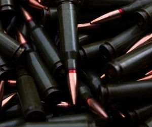 assassin, black, and bullets image
