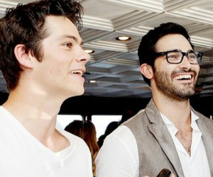 sterek, hobrien, and teen wolf image