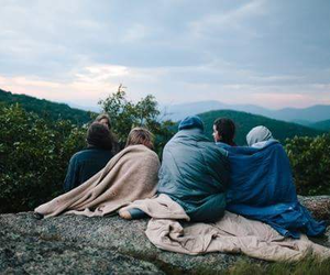 cozy, view, and friends image