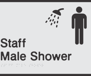 other signs, multi facility signs, and unisex signs image