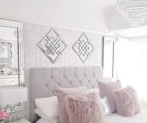 fabulous, bed bedroom room, and fashion image