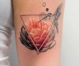 art, bird, and ink image