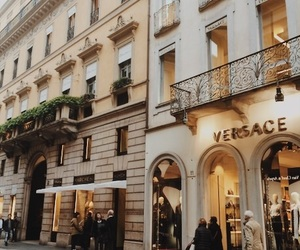 city, Versace, and italy image
