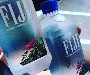 fiji, water, and grunge image