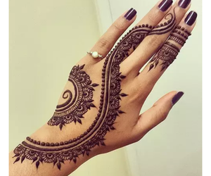 henna tattoo, Tattoos, and tattoos for girls image