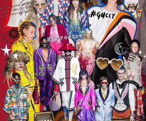 Collage, fashion, and gucci image