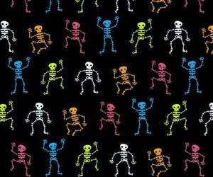 wallpaper, skeleton, and background image