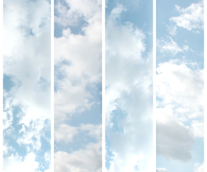 sky, blue, and pale image