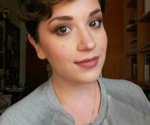 fall, makeup, and me image