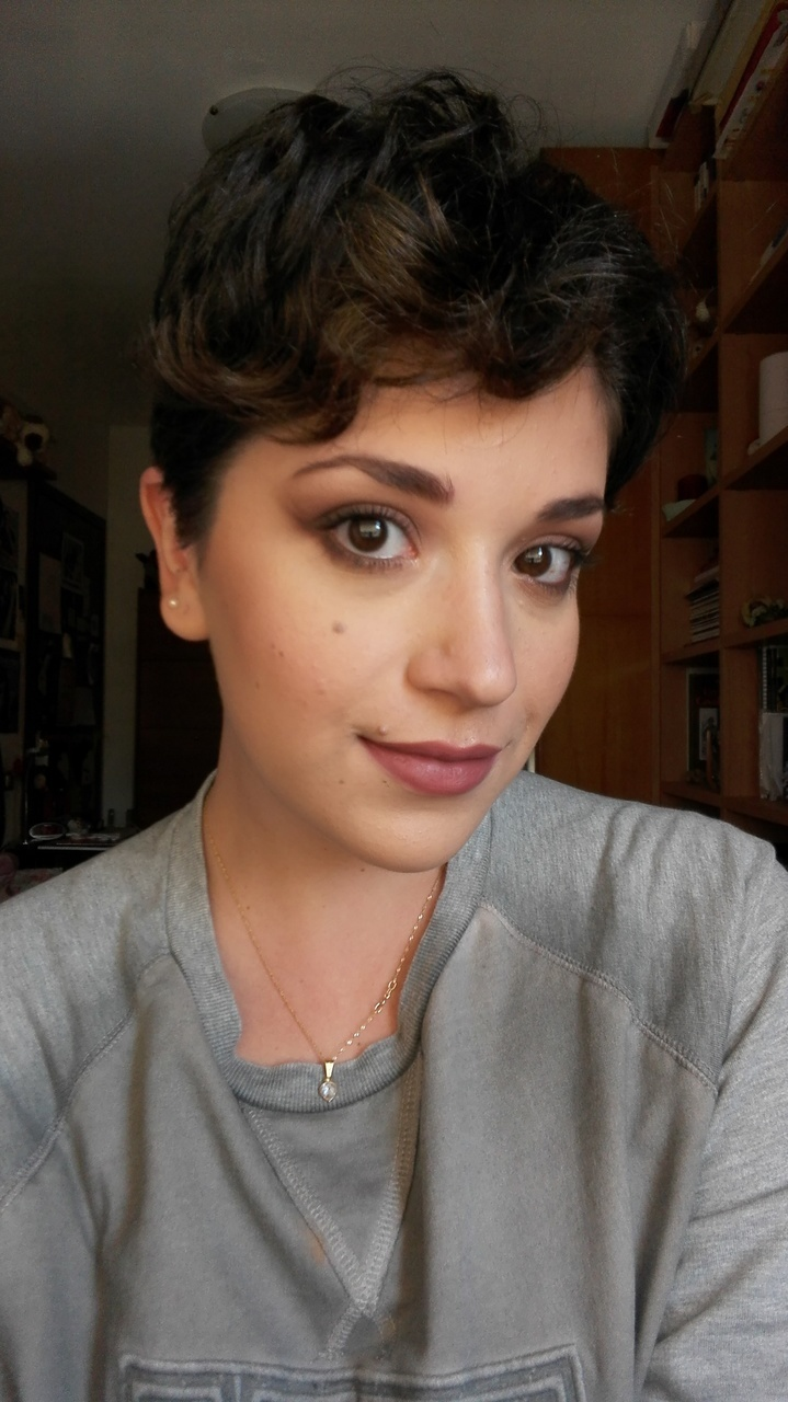 article, fall, and makeup image