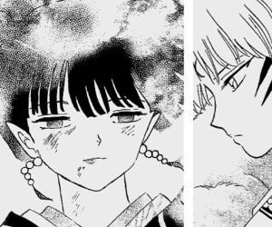 inuyasha, kagura, and sesshomaru image