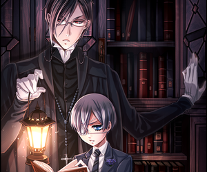black butler and sebastian image