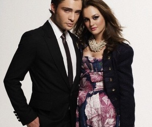 ed westwick, gossip girl, and leighton meester image