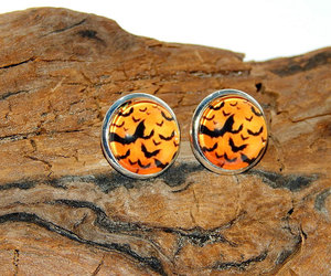 etsy, halloween jewelry, and halloween earrings image