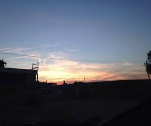 beautiful, sunset, and love image