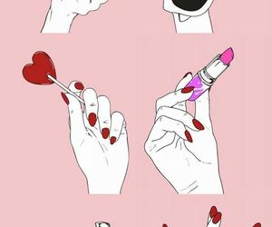 wallpaper and makeup image