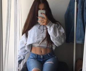 girl, style, and hairgoals image