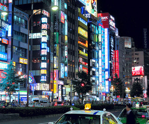 city, downtown, and japan image