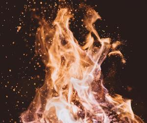 burn, fire, and photography image