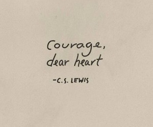 courage, heart, and hearts image