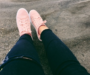 fashion, pink shoes, and pink blog image