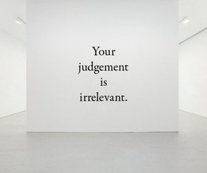 quotes, judgement, and irrelevant image