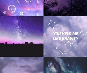 aesthetic, cool, and galaxy image