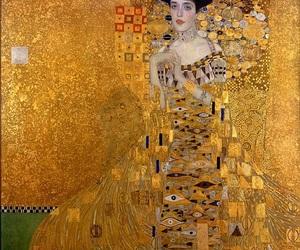 art, klimt, and Gustav Klimt image
