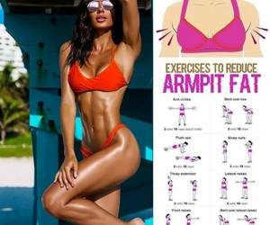 arms, fit, and bra image